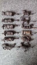 antique  A set of (12) Chinese zodiac lock