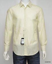 New $145 BOSS Hugo Boss LUCAS Long Sleeve Regular Fit Sport Shirt Top Green  M