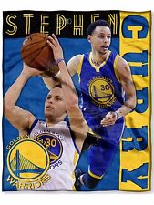 NBA Golden State Warriors Stephen Curry Silk Touch Throw 50x60