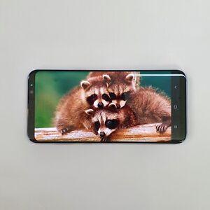 Samsung Galaxy S8+ Grey SM-G955N 64GB Unlocked Single sim Screen Burn-in