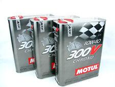 Motul aceite lubricante altas Prestasciones 300v Chrono 10w40 2L