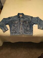 Vintage Womens Levis Denim Size Small Made in USA Truckers Jacket NWT