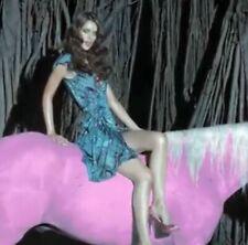Matthew Williamson x HM Peacock Warp Dress Size M Wickelkleid Pfauen Print
