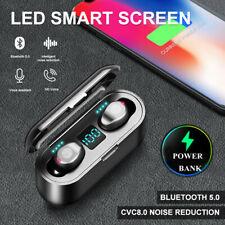 Audífonos Inalámbricos Bluetooth 5.0 Mini TWS Auriculares Auriculares Auriculares Estéreo