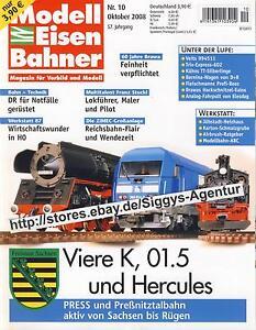 Modell Eisen Bahner 10/2008 Oktober 2008 Magazin für Vorbild und Modell