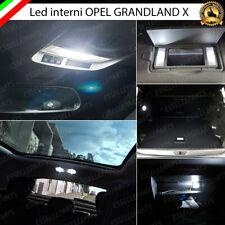 KIT LED INTERNI OPEL GRANDLAND X CONVERSIONE INTERNA A LED CANBUS 6000K NO ERROR