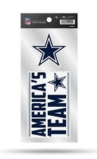 Dallas Cowboys Double Up Sticker Sheet Die Cut Decal New Team Color 2 Logos
