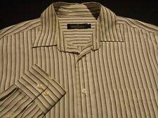 Bugatchi Uomo Mens Large L/S Hidden Button-Down Multi-Color Striped Shirt