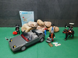 Playmobil Fluchtfahrzeug/Gangster, ähnlich 3162-A/2002, BA, mehr Zubehör, o.OVP!