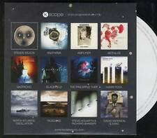 K SCOPE progressive PROMO CD Steven Wilson Anathema Blackfield Pineapple Thief