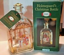 Holmegaards  Juleflaske Christmas Dram Bottle Vintage Denmark