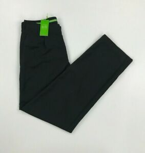 Men's NWT Black Boss Hugo Boss Golf Trousers W33 L35 Straight Leg Taltons A*