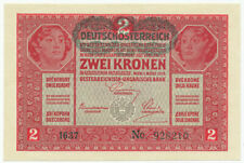 AUSTRIA, ÖSTERREICH - 2 Kronen 1. 3. 1917. (1919) P50, UNC. (A013)