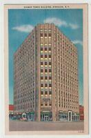 Undated Unused Postcard Chimes Tower Building Syracuse New York NY