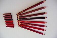 THREE X LA FEMME BEAUTY PLC LIP LINER PENCILS 1 X CRIMSON 1 X RED 1 X PURPLE NEW