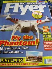 RC MODEL FLYER MAY 2013 E-FLITE SBACH 342 3D BNF DJI PHANTOM QUADCOPTER