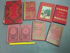 Lot de 8 anciens livres pour enfants albums contes Jeanne D'Arc Jean Francésou