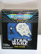 Gs Galoob Star Wars Micro Machines Fan Club Han Solo/ Millennium Falcon