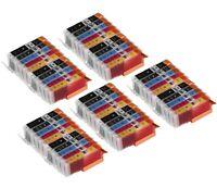 50 PK INK PGI-250 CLI-251 XL NON-OEM FOR CANON PIXMA MX922 MG5422 MG5520 MG6420