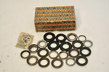 MOSTLY NOS - 1950s RALEIGH VINTAGE BELL TYPE INTEGRATED BICYCLE HEADSET PARTS