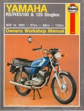 HAYNES SERVICE REPAIR MANUAL YAMAHA RS125 1974-1976 & RS125 1976-1984 RS 125