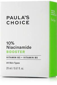 Paula's Choice 10% Niacinamide Booster 20ml  BNIB RRP £42