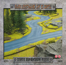Gale Force Nine Battlefield in a Box BNIB River Expansion: Fork BB512
