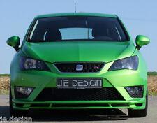 JE DESIGN Frontspoiler Seat Ibiza 6J ab Bj. 03/2012 nur für FR und CUPRA