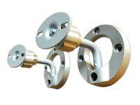 2 Stück Boxen Halterung neigbar + drehbar Lautsprecher Box Halter Montage BH3