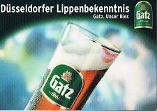 Bier Beer  Gatz Altbier Düsseldorfer Lippenbekenn.., selten und bestens erhalten