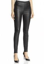 Bagatelle City Women's Pants Petite Black Stretch Leather Legging Skinny $595