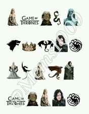 Game of Thrones Nail art water decals  Free Shipping
