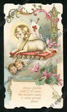 Santino 212 Lamb of God-Corpus Domini-Holy Card Image pieuse Holy Card