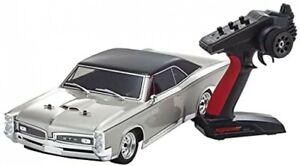 Kyosho 34431T1 1:10 Fazer Mk2 FZ02L 1967 Pontiac GTO Car Model Kit, Has Lights