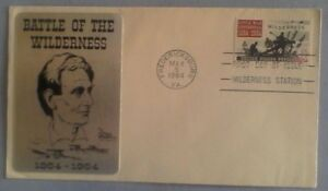 First day of issue, 1964 Civil War Centennial, Battle of the Wilderness, Sarazin