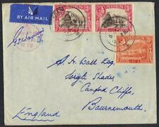 ADEN 1940 AIR MAIL COVER TO ENGLAND