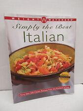 Weight Watchers Simply The Best Italian Cookbook Recipe Guide Pasta Fritattas