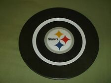 Pittsburgh Steelers plastic plate and two plastic bowls lot