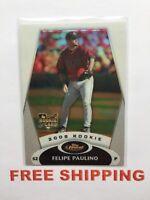 2008 Topps Finest RC Refractor Baseball Card #127 Felipe Paulino MLB Astros