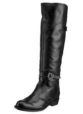 New in box FRYE Womens Dorado Riding Boot Black Full Grain SZ 6.5 MSRP $648