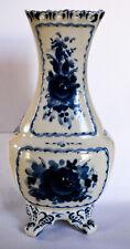 Vintage Russian Gzhel Art Porcelain Vase Signed Original