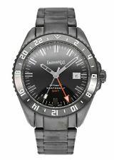 Eberhard & Co. Scafograf 300 GMT 43mm Automatic DLC Steel Mens Watch 41040
