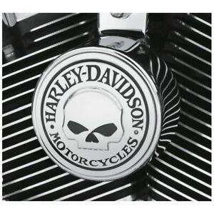 Harley Davidson OEM NEW Willie G. Skull Horn cover Softail Dyna Touring FLHX