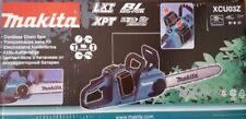 "MAKITA XCU03Z 18V X2 (36V) LXT Lithium-Ion Cordless 14"" Chain Saw  Tool Only"