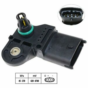 Intake Manifold Boost Pressure MAP Sensor For IVECO EuroCargo Stralis Trakker