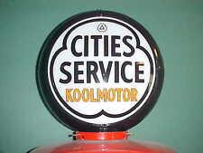 CITIES SERVICE KOOLMOTOR GAS PUMP GLOBE