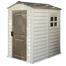 DuraMax 4X6 StorePro Vinyl Shed with Floor [30621]