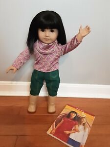 Rare Ivy Ling 2008 American Girl Doll with Book