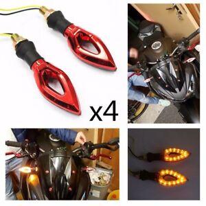 Motorcycle LED Turn Signals Indicators YAMAHA MT01 MT 03 TDM900 FZ1 FZ6 YBR XJ6
