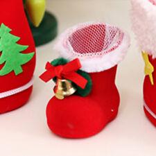 Sac Bottes Chaussure Cadeau Stockage Bonbon Conteneur Pendentif Arbre Noël Decor